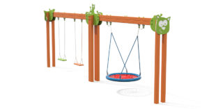 Cat Swing doppia CATN2T Stileurbano