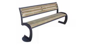 Panchina Aurora legno ARUP06