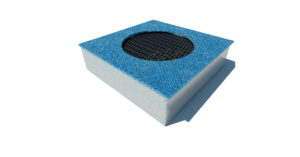 Trampolino Medium square crater CLI54 Stileurbano