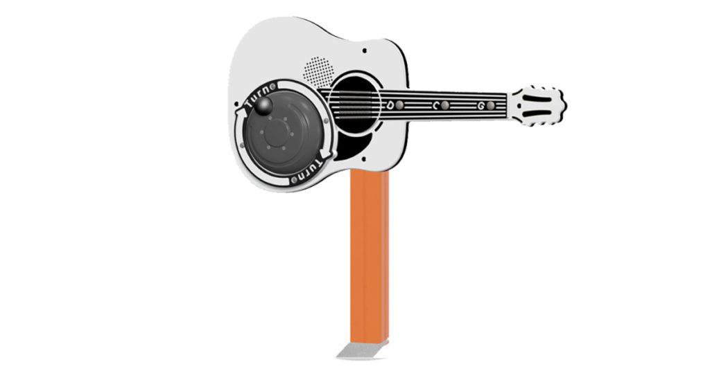 Chitarra acustica a dinamo PPAN72 Stileurbano