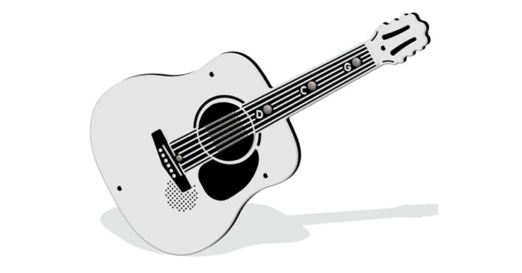 Chitarra acustica a pile PPAN72B Stileurbano