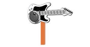 Chitarra solista a dinamo PPAN74 Stileurbano