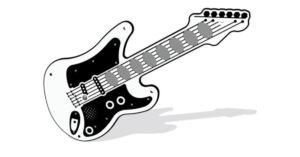 Chitarra solista a pile PPAN74B Stileurbano