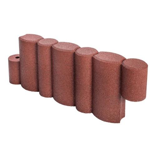 cordolo per sabbiera in gomma riciclata SBR