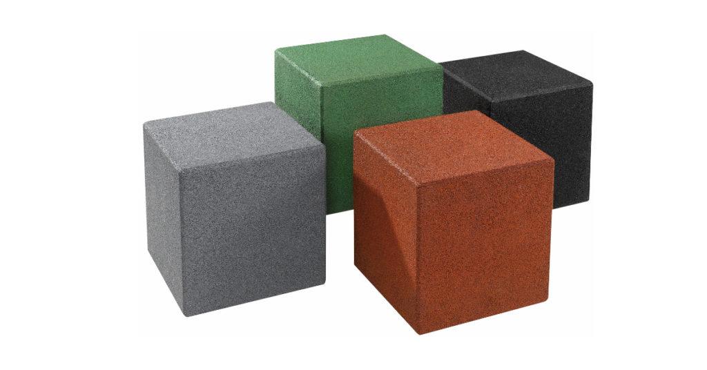 Cubi in gomma GUM21 Stileurbano