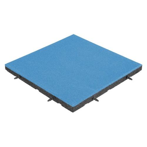 pavimentazione antitrauma EPDM azzurro