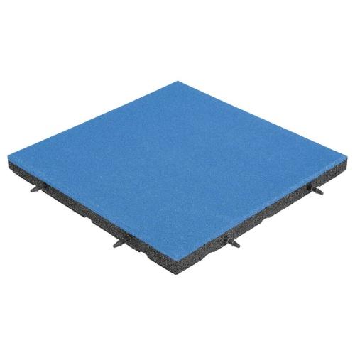 pavimentazione antitrauma EPDM blu