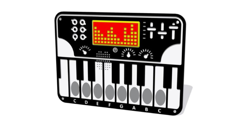 Tastiera a batterie PPAN71B Stileurbano