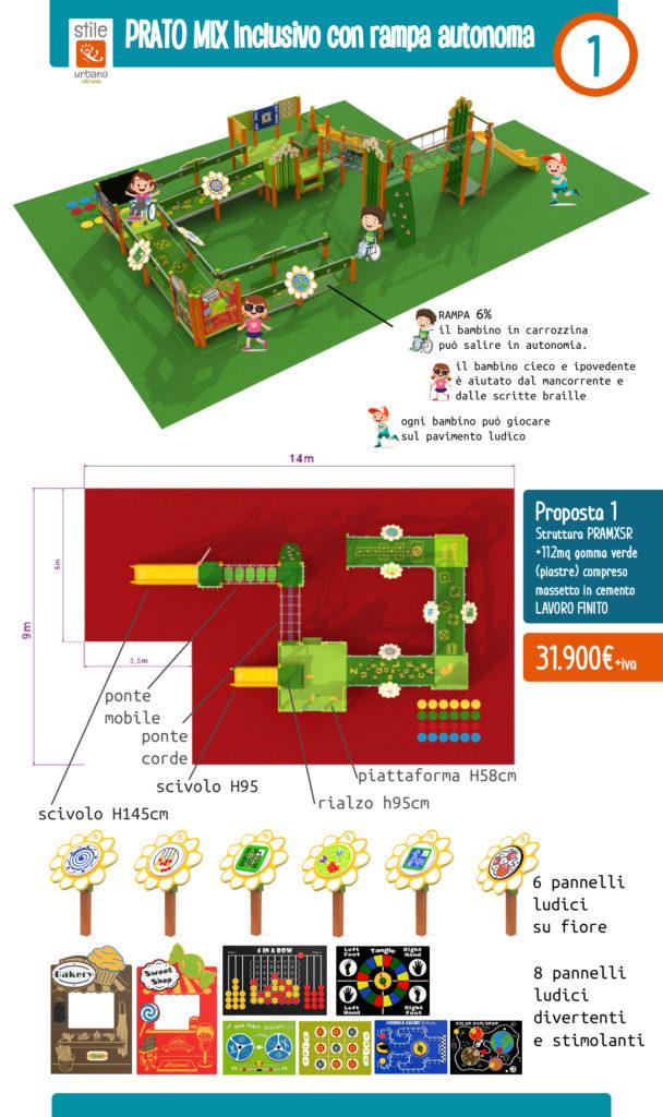 Proposta 1 Bando Parco giochi inclusivo regione Lombardia