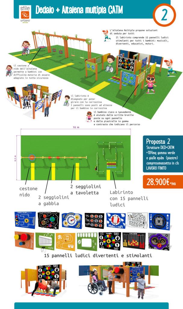 Proposta 2 Bando Parco giochi inclusivo regione Lombardia