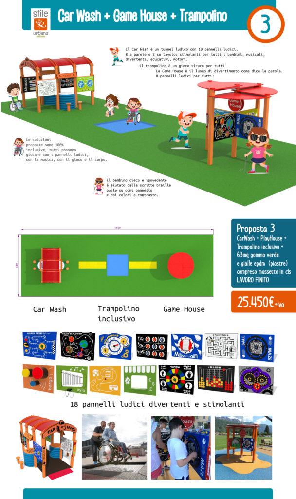 Proposta 3 Bando Parco giochi inclusivo regione Lombardia