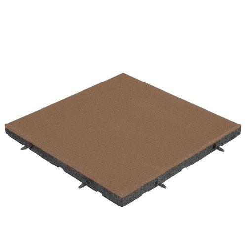 pavimentazione antitrauma EPDM marrone